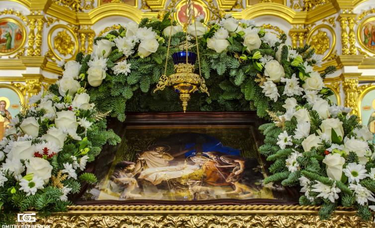 Убранство Собора в Рождество Христово