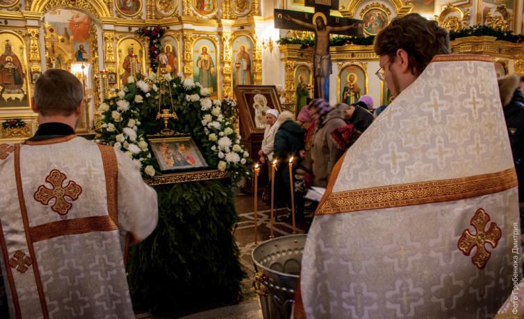 Крещенский сочельник в Свято-Михайловском Соборе
