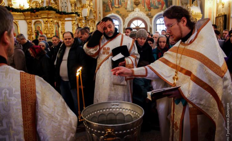 Крещенский сочельник в Свято-Михайловском Соборе (2015 год)