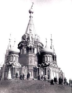 Разрушение Свято-Михайловского Собора