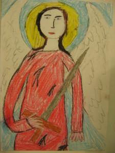 Рисунок «Архангел Михаил»