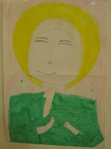 Рисунок, «Матрона Московская»
