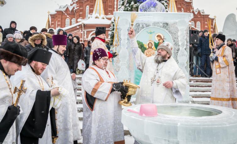 Праздник Крещения Господня в Михайловском соборе