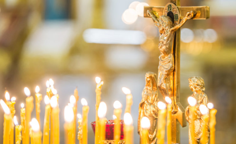 В Михайловском соборе прошла панихида о погибших при обрушении дома в Ижевске