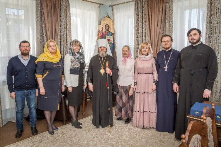 Поздравили митрополита Викторина