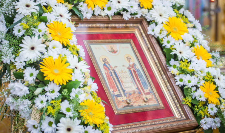 В День семьи, любви и верности состоялось традиционное чествование семейных пар