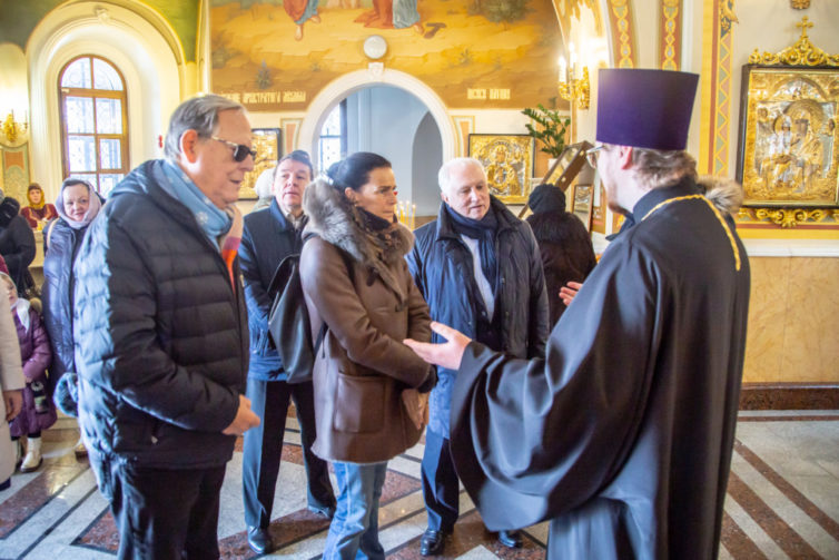 Кафедральный собора г. Ижевска посетила принцесса княжества Монако