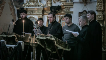 хор духовенства