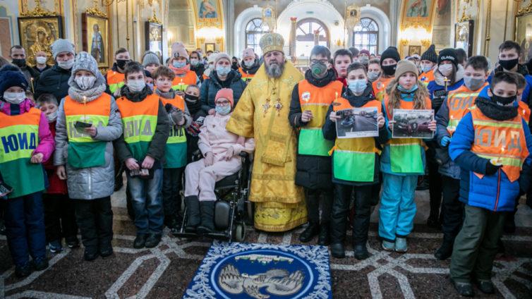 В Ижевске помолились о жертвах дорожно-транспортных происшествий