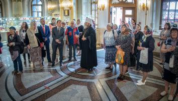 Гости фестиваля «На родине П. И. Чайковского» посетили собор